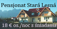 Pensjonat Stará Lesná, Wysokie Tatry