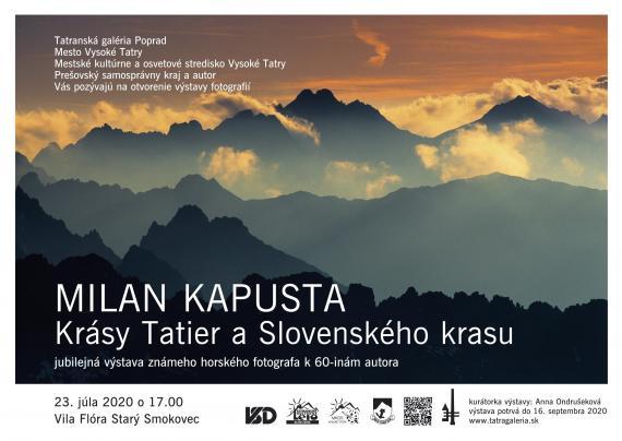Milan Kapusta & Krásy Tatier a Slovenského krasu