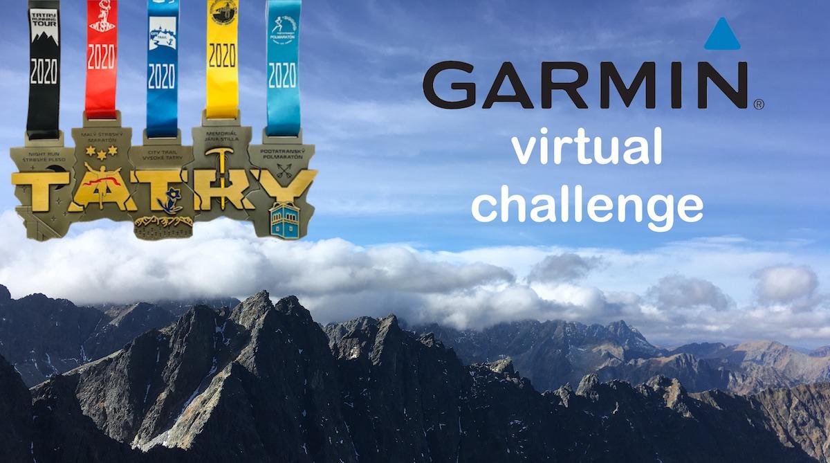 GARMIN virtual challenge TATRY RUNNING TOUR 2020