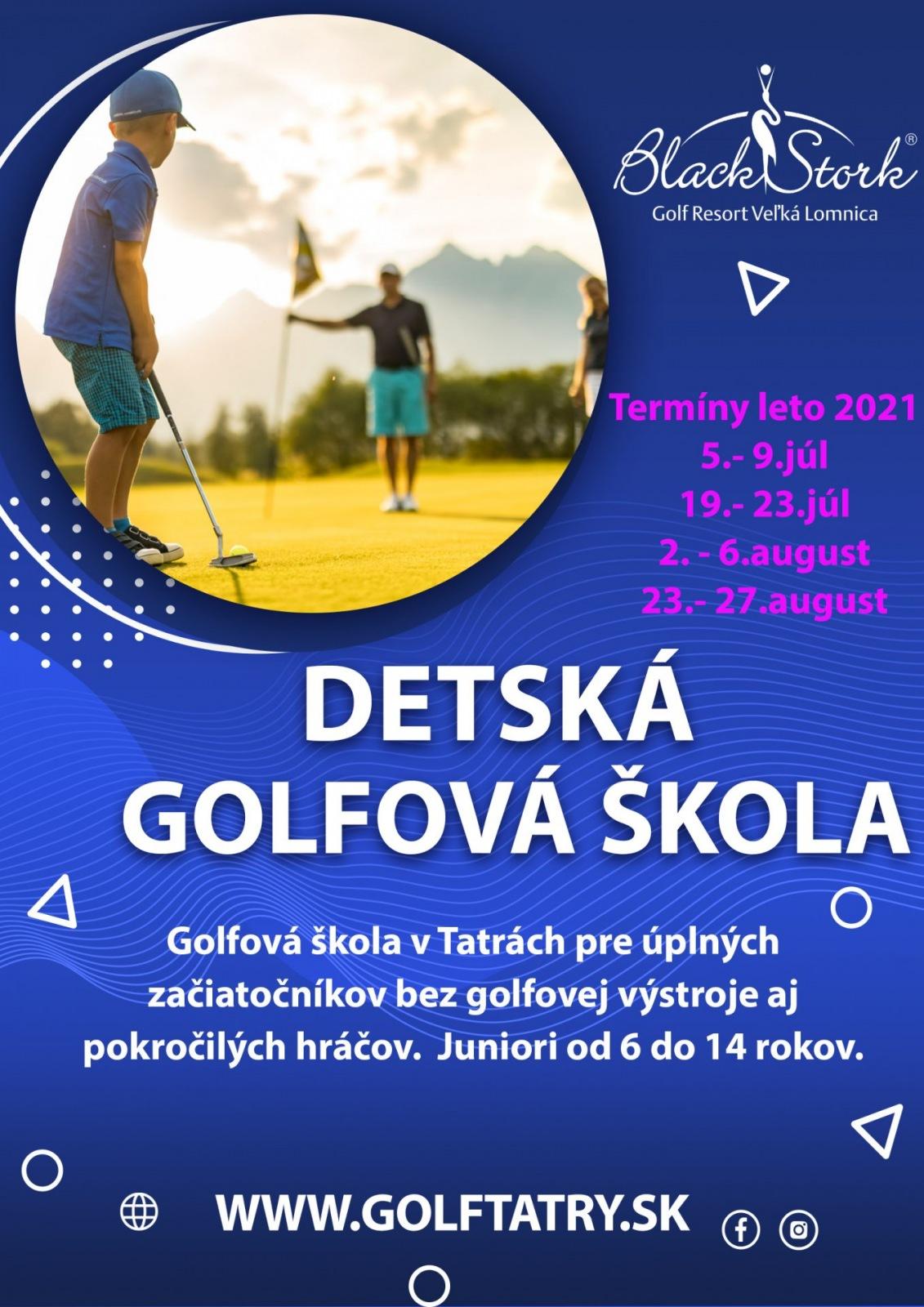 Detská golfová škola 2021