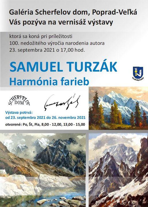 Výstava Samuel Turzák & Harmónia farieb