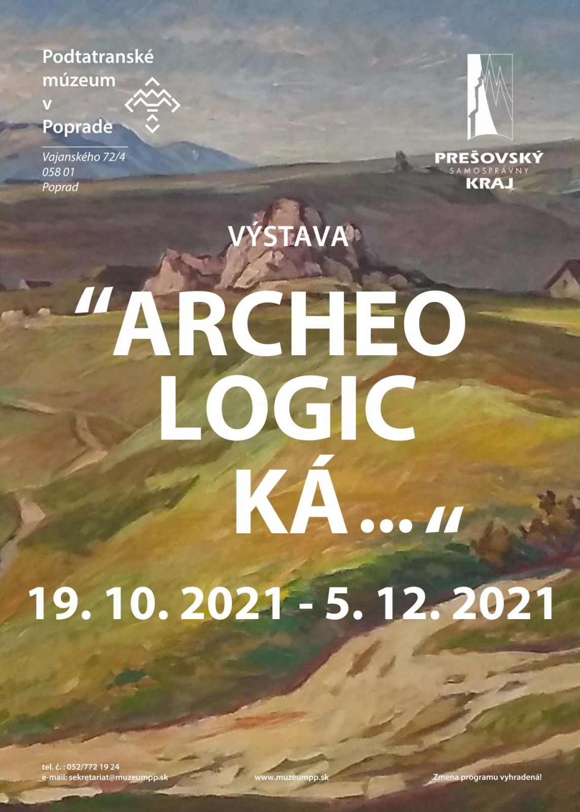 Výstava Archeologická