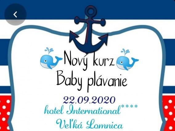 Baby plávanie & nový kurz