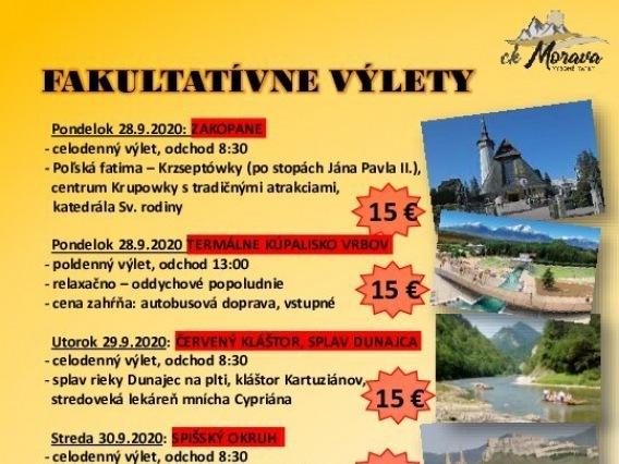 Výlet CK MORAVA & Goralský deň
