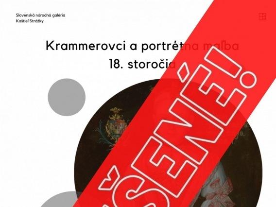 Krammerovci a portrétna maľba 18.storočia & ZRUŠENÉ