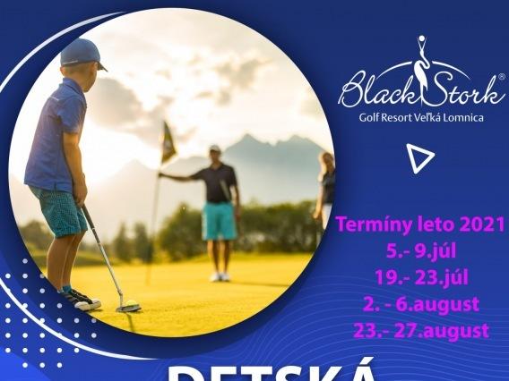 Detská golfová škola 2021 v Tatrách
