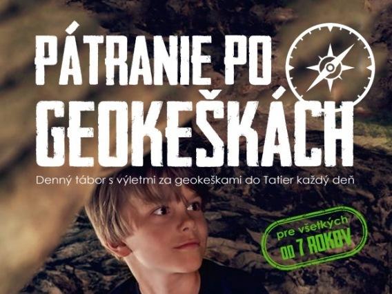Detský tábor Pátranie po geokeškách