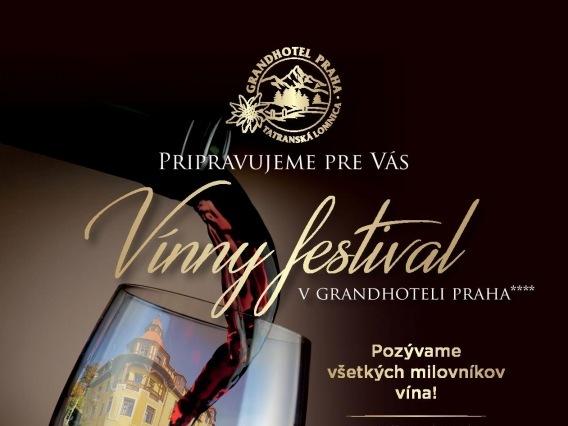 Vínny festival v Grandhoteli Praha****
