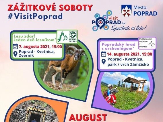Zážitkové soboty & Popradský hrad s archeológom