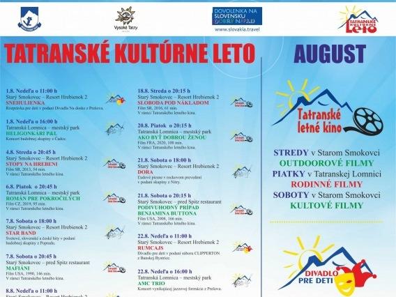 Tatranské kultúrne leto & Koncerty & STAR BAND