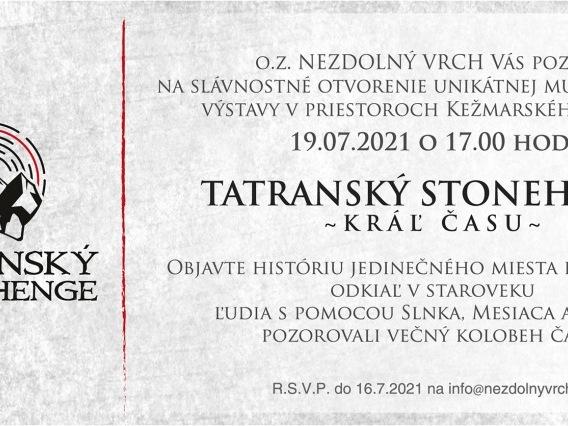 &Tatranský Stonehenge& – Kráľ času