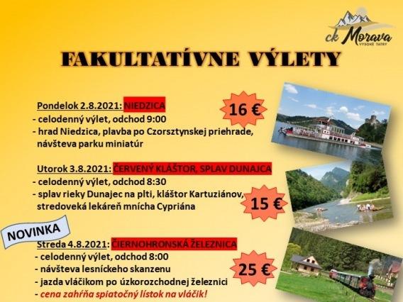 Fakultatívny výlet & LEVOČA