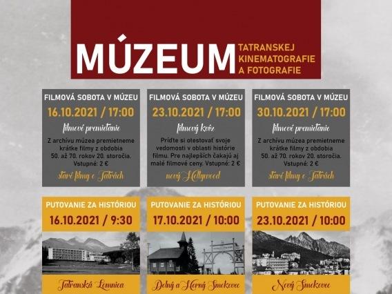 Filmová sobota v múzeu & filmové premietanie