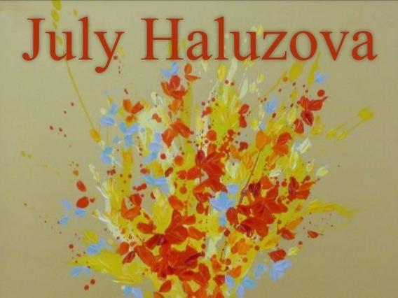 July Haluzová & Erupcia farieb