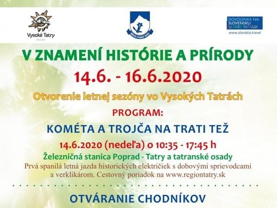 Otvorenie letnej sezóny vo Vysokých Tatrách & Otváranie chodníkov