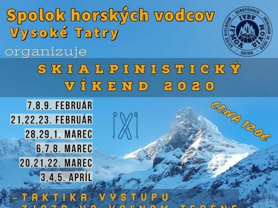 Skialpinistický víkend 2020