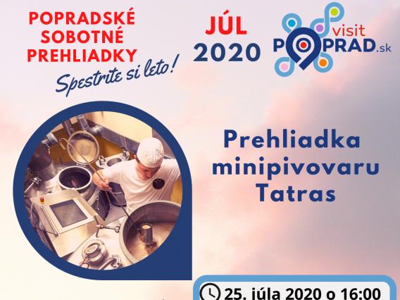 Prehliadka Minipivovaru Tatras