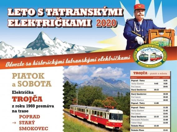 Jazda historickou električkou Trojča