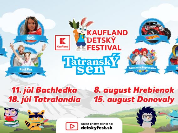 KAUFLAND DETSKÝ FESTIVAL & TATRANSKÝ SEN