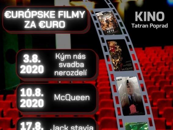 EURÓPSKE FILMY ZA EURO & Šťastný Lazzaro