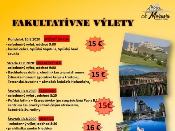 Výlet CK MORAVA & Červený Kláštor, splav Dunajca