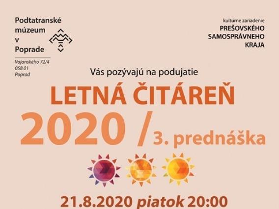 Letná čitáreň 2020