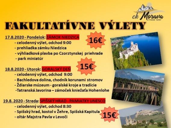 Výlet CK MORAVA & Spišský hrad & Pamiatky UNESCO