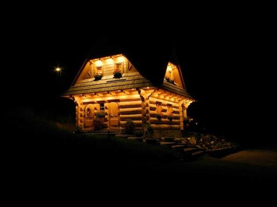 Zrubový domček 2